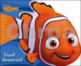 Walt Disney: Hľadá sa Nemo - Veselí kamaráti - leporelo cena od 139 Kč