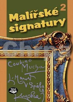 Malířské signatury 2 cena od 143 Kč