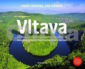 Jan Kavale, Libor Chvojka: Vltava - Obrazové putování řekou od pramene k soutoku + CD cena od 415 Kč