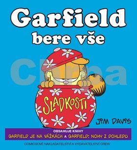 Jim Davis: Garfield bere vše (č.7+8) cena od 262 Kč
