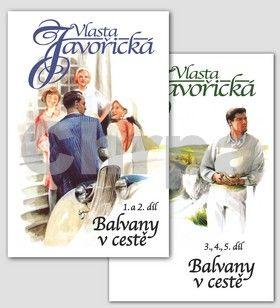 Vlasta Javořická: Balvany v cestě 1. - 5. díl cena od 384 Kč