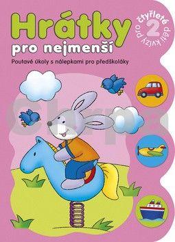 Aksjomat Hrátky pro nejmenší Kvízy pro čtyřleté děti 2 cena od 49 Kč
