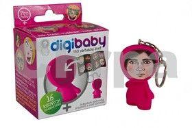 Digibaby, originální figurka s klíčenkou růžová cena od 64 Kč