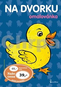 Andrej Čerevka: Na dvorku omalovánka cena od 27 Kč