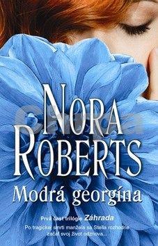 Nora Roberts: Modrá georgína cena od 134 Kč
