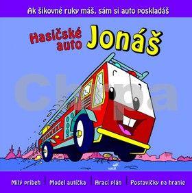 Hasičské auto Jonáš - Ak šikovné ruky máš, sám si auto poskladáš cena od 83 Kč