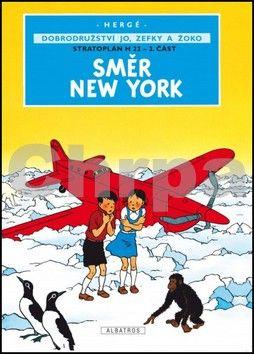Hergé: Směr New York cena od 108 Kč