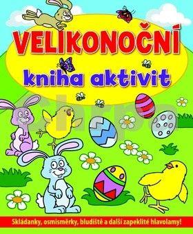 Velikonoční kniha aktivit cena od 62 Kč