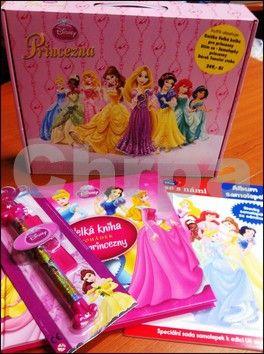 Walt Disney: Princezna - kufřík cena od 0 Kč