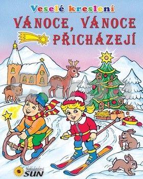 Bauer Petr: Vánoce, Vánoce přicházejí - Veselé kreslení cena od 40 Kč