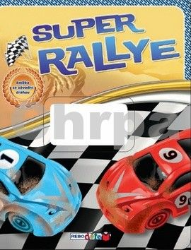 Super rallye - knížka se závodní dráhou cena od 165 Kč