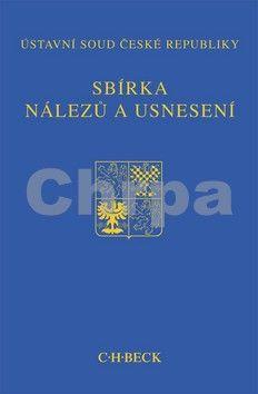 C.H.Beck Sbírka nálezů a usnesení ÚS ČR cena od 514 Kč
