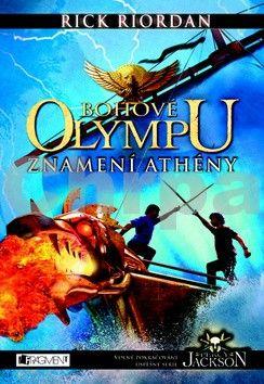 Rick Riordan: Percy Jackson – Bohové Olympu – Znamení Athény cena od 271 Kč
