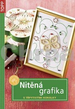 Elisabeth Eder: Nitěná grafika s třpytivými korálky cena od 30 Kč