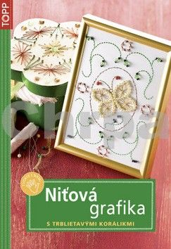 ANAGRAM Niťová grafika s trblietavými korálikmi cena od 80 Kč