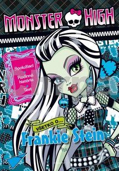 EGMONT Monster High Všetko o Frankie Stein cena od 53 Kč