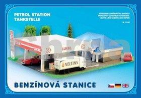 Benzínová stanice cena od 53 Kč