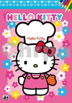 Omalovánka Hello Kitty cena od 25 Kč