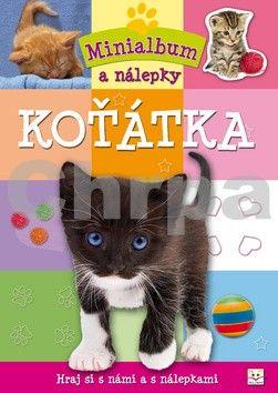 Minialbum a nálepky - Koťátka cena od 18 Kč