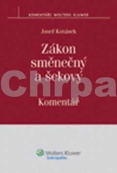 Josef Kotásek: Zákon směnečný a šekový cena od 637 Kč