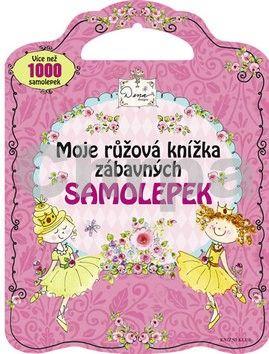 Moje růžová knížka zábavných samolepek cena od 199 Kč