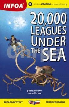 Jules Verne: 20 000 mil pod mořem/20,000 Leagues Under the Sea - Zrcadlová četba cena od 138 Kč