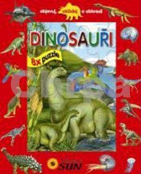 SUN Dinosauři 8x puzzle cena od 220 Kč