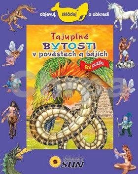 Trujillo Eudardo: Tajuplné bytosti v pověstech a bájích - 8 puzzle - Objevuj, skládej a obkresli cena od 116 Kč