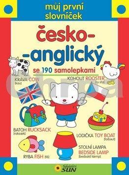 Můj první slovníček česko-anglický se 190 samolepkami cena od 86 Kč