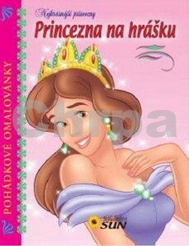 Pohádkové omalovánky Princezna na hrášku cena od 39 Kč