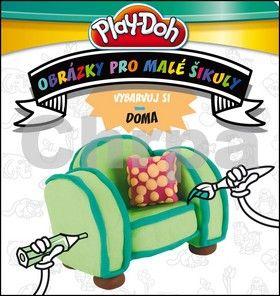 Kadlec Stanislav: Play-Doh - Vybarvuj si DOMA - Obrázky pro malé šikuly cena od 45 Kč