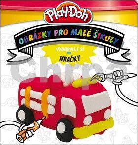 Kadlec Stanislav: Play-Doh - Vybarvuj si HRAČKY - Obrázky pro malé šikuly cena od 37 Kč