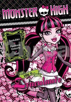 Nettlová Klára: Monster High - Vše o Drakulauře cena od 59 Kč