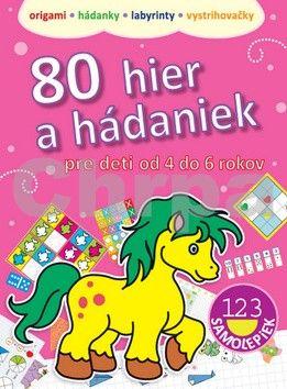Piotr Kozera: 80 hier a hádaniek pre deti od 4 do 6 rokov cena od 113 Kč