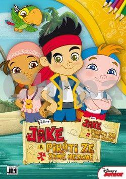 Omalovánka Jake a piráti cena od 0 Kč