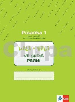 Wildová Radka: Lili a Vili 1 – Písanka 1 pro 1. ročník ZŠ (Procvičovací kresebné cviky) - Ve světě psaní - cena od 21 Kč