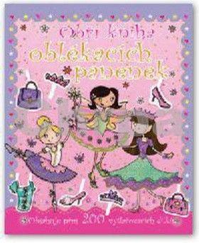 Obří kniha oblékacích panenek cena od 124 Kč