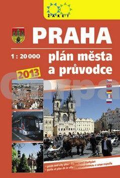 Žaket Praha plán města a průvodce 2013 cena od 169 Kč