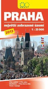 Žaket Praha největší zobrazované území 2013 cena od 65 Kč