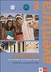 Kolektiv: Aventura 3 - Španělština pro SŠ a JŠ- učebnice + PS + 2CD cena od 382 Kč