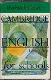 Cambridge University Press CAMBRIDGE ENGLISH FOR SCHOOLS 2 - WORKBOOK - CASSETTE/2/ cena od 348 Kč