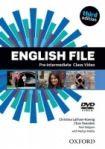 Oxford University Press English File Pre-Intermediate (3rd Edition) Class DVD cena od 525 Kč