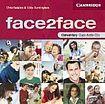 Cambridge University Press face2face Elementary Class CDs cena od 648 Kč
