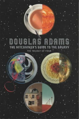HITCH-HIKER´S GUIDE TO THE GALAXY: TRILOGY IN FOUR PARTS cena od 299 Kč