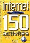 CLE International INTERNET 150 ACTIVITES: NIVEAU INTERMEDIAIRE LIVRET DE CORRIGES cena od 368 Kč