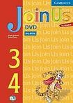 Cambridge University Press Join Us for English 3 and 4 DVD cena od 40 Kč