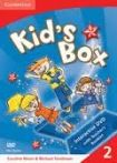 Cambridge University Press Kid´s Box 2 DVD cena od 952 Kč