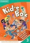 Cambridge University Press Kid´s Box 3 Interactive DVD (PAL) with Teacher´s Booklet cena od 952 Kč