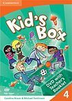 Cambridge University Press Kid´s Box 4 Interactive DVD (NTSC) with Teacher´s Booklet cena od 952 Kč