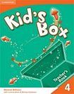 Cambridge University Press Kid´s Box 4 Teacher´s Book cena od 420 Kč